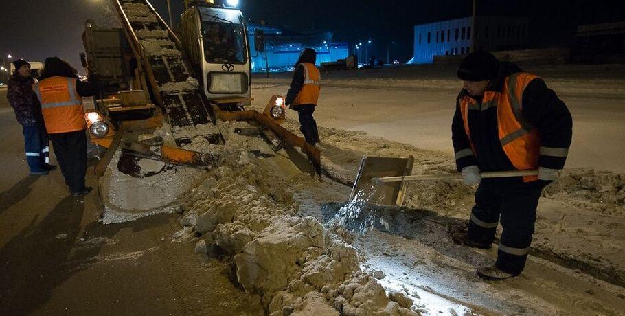 Снегоуборочная техника в Омске массово ломается из-за морозов