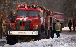 В новогоднюю ночь омские пожарные спасли 20 человек