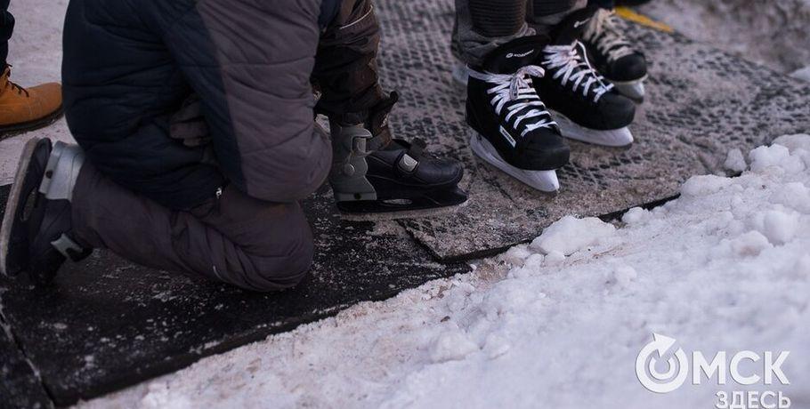 На Рождество омские катки будут работать бесплатно #Спорт #Новости