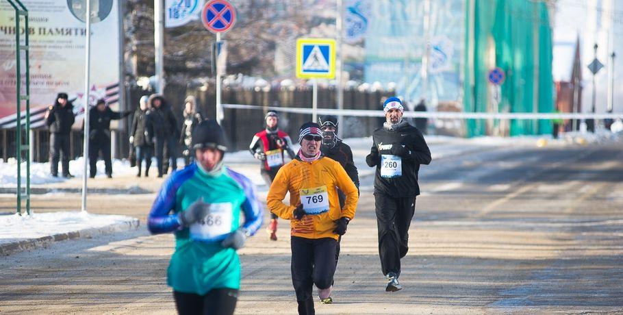 В Омске более тысячи участников выйдут на старт Рождественского полумарафона #Спорт #Новости