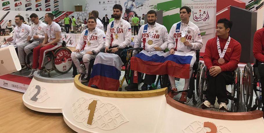 Омские паралимпийцы одержали несколько побед в арабской Шардже #Спорт #Новости