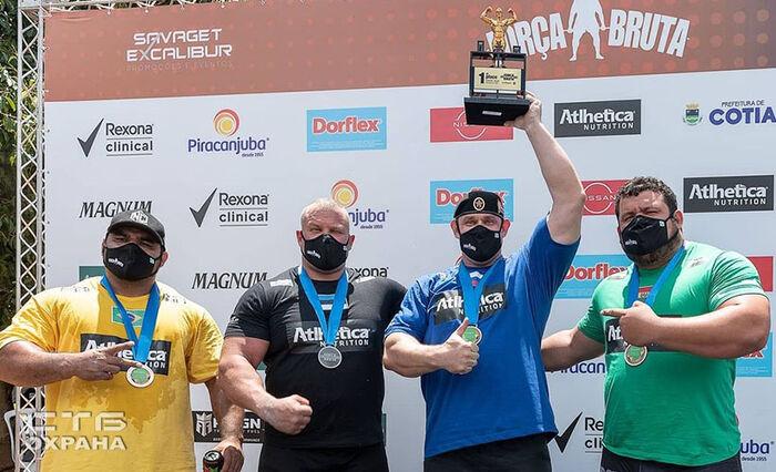 Михаил Шивляков стал победителем престижного турнира по силовому экстриму в Бразилии