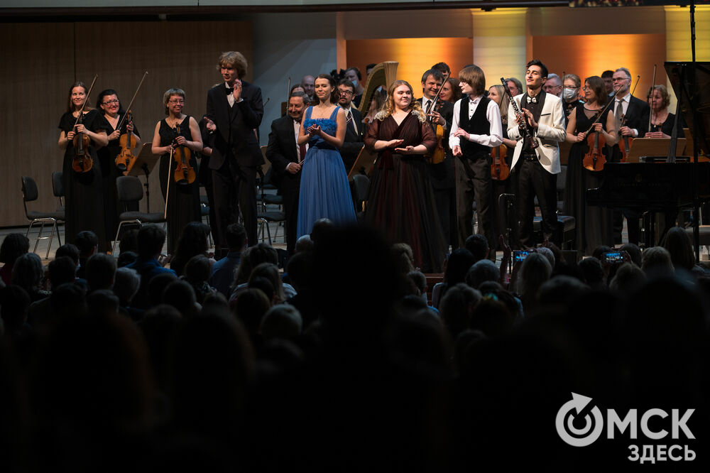 """Омск стал одним из семи городов, в которых прошёл большой концертный тур """"Молодые звёзды классической музыки"""". Фото: Илья Петров"""